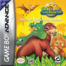 Land Before Time, The - Into the Mysterious Beyond Nintendo Game Boy Advance cover artwork