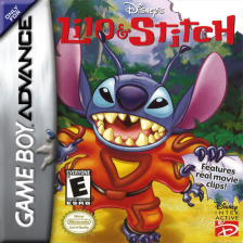 Lilo & Stitch Nintendo Game Boy Advance cover artwork