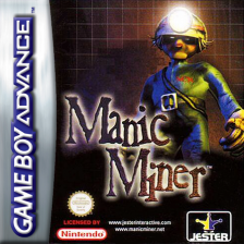 Manic Miner Nintendo Game Boy Advance cover artwork