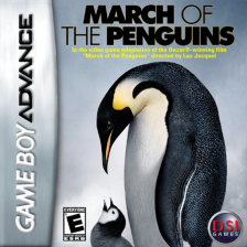 March of the Penguins Nintendo Game Boy Advance cover artwork