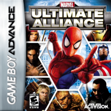 Marvel - Ultimate Alliance Nintendo Game Boy Advance cover artwork