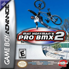 Mat Hoffman's Pro BMX 2 Nintendo Game Boy Advance cover artwork