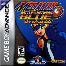 Mega Man Battle Network 3 - Blue Version Nintendo Game Boy Advance cover artwork
