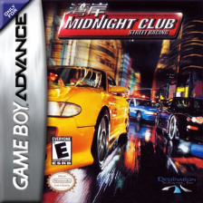Midnight Club - Street Racing Nintendo Game Boy Advance cover artwork