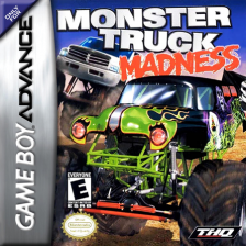 Monster Truck Madness Nintendo Game Boy Advance cover artwork