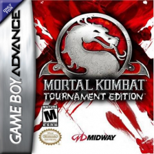 Mortal Kombat - Tournament Edition Nintendo Game Boy Advance cover artwork