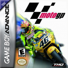 Moto GP Nintendo Game Boy Advance cover artwork