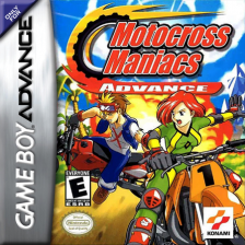 Motocross Maniacs Advance Nintendo Game Boy Advance cover artwork