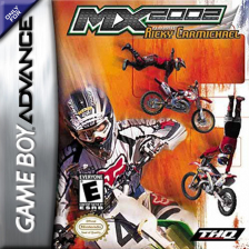 MX 2002 featuring Ricky Carmichael Nintendo Game Boy Advance cover artwork