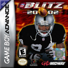 NFL Blitz 20-02 Nintendo Game Boy Advance cover artwork