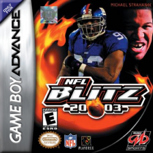 NFL Blitz 20-03 Nintendo Game Boy Advance cover artwork