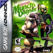 Oddworld - Munch's Oddysee Nintendo Game Boy Advance cover artwork