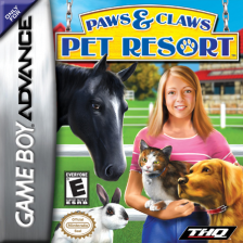 Paws & Claws - Pet Resort Nintendo Game Boy Advance cover artwork