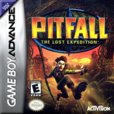 Pitfall - The Lost Expedition Nintendo Game Boy Advance cover artwork