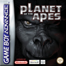 Planet of the Apes Nintendo Game Boy Advance cover artwork