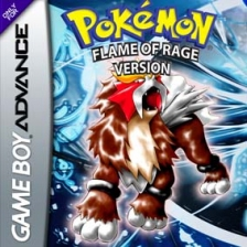Pokemon - Flame of Rage Nintendo Game Boy Advance cover artwork