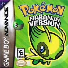 Pokemon Naranja Nintendo Game Boy Advance cover artwork