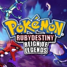 Pokemon Ruby Destiny - Reign of Legends Nintendo Game Boy Advance cover artwork