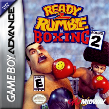 Ready 2 Rumble Boxing - Round 2 Nintendo Game Boy Advance cover artwork
