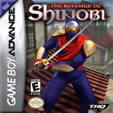 Revenge of Shinobi, The Nintendo Game Boy Advance cover artwork