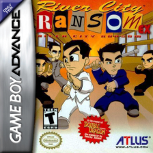 River City Ransom EX Nintendo Game Boy Advance cover artwork