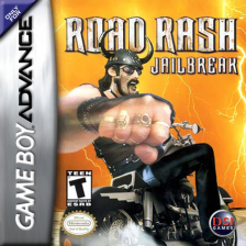 Road Rash - Jailbreak Nintendo Game Boy Advance cover artwork