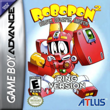 Robopon 2 - Ring Version Nintendo Game Boy Advance cover artwork