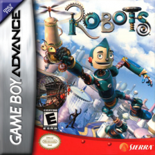 Robots Nintendo Game Boy Advance cover artwork