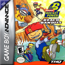 Rocket Power - Beach Bandits Nintendo Game Boy Advance cover artwork