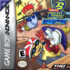 Rocket Power - Zero Gravity Zone Nintendo Game Boy Advance cover artwork