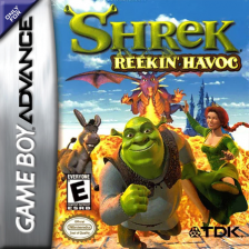 Shrek - Reekin' Havoc Nintendo Game Boy Advance cover artwork