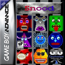 Snood Nintendo Game Boy Advance cover artwork
