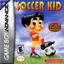 Soccer Kid Nintendo Game Boy Advance cover artwork