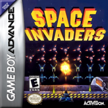 Space Invaders Nintendo Game Boy Advance cover artwork