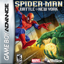 Spider-Man - Battle for New York Nintendo Game Boy Advance cover artwork