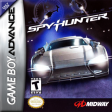 Spy Hunter Nintendo Game Boy Advance cover artwork