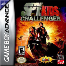 Spy Kids Challenger Nintendo Game Boy Advance cover artwork