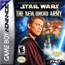 Star Wars - The New Droid Army Nintendo Game Boy Advance cover artwork