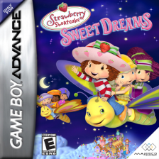 Strawberry Shortcake - Sweet Dreams Nintendo Game Boy Advance cover artwork
