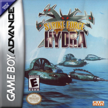 Strike Force Hydra Nintendo Game Boy Advance cover artwork