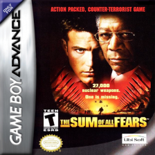 Sum of All Fears, The Nintendo Game Boy Advance cover artwork