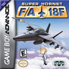 Super Hornet FA 18F Nintendo Game Boy Advance cover artwork