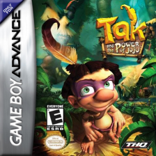 Tak and the Power of Juju Nintendo Game Boy Advance cover artwork