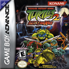 Teenage Mutant Ninja Turtles 2 - Battle Nexus Nintendo Game Boy Advance cover artwork