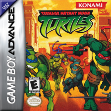 Teenage Mutant Ninja Turtles Nintendo Game Boy Advance cover artwork
