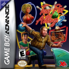 Ten Pin Alley 2 Nintendo Game Boy Advance cover artwork
