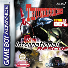 Thunderbirds - International Rescue Nintendo Game Boy Advance cover artwork
