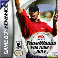 Tiger Woods PGA Tour Golf Nintendo Game Boy Advance cover artwork