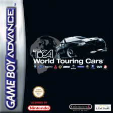TOCA World Touring Cars Nintendo Game Boy Advance cover artwork