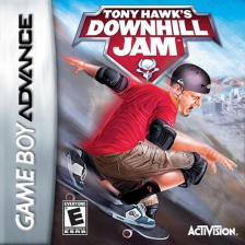 Tony Hawk's Downhill Jam Nintendo Game Boy Advance cover artwork